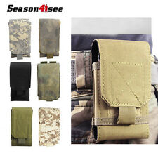 Military Tactical Molle Cell Phone Pouch Case Belt Loop for iPhone6S 6Plus 5.5""