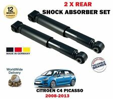 FOR CITROEN C4 PICASSO 2008-2013 NEW 2 X REAR SHOCK ABSORBER SHOCKERS SET
