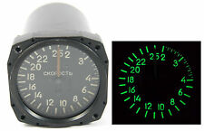 AIRCRAFT COCKPIT INDICATOR SPEED METER MIG-21 RUSSIAN SOVIET COMBAT FIGHTER VINT