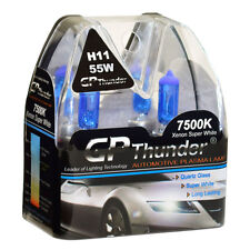 GP Thunder II 7500K H11 Xenon Halogen Light Bulb 55W White SGP75-H11