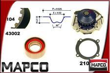 MAPCO Wasserpumpe + Zahnriemensatz 41002 für Fiat Uno , Fiat Panda, Seicento