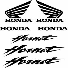ADESIVI HONDA HORNET 7 Pz. Carena Moto Casco Decal Stickers