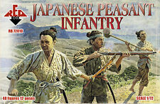 Red Box Models 1/72 JAPANESE PEASANT INFANTRY Figure Set