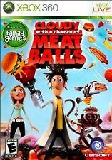 Cloudy With a Chance of Meatballs -- Xbox 360 -- CiB NM -- SEE DESCRIPTION