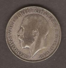 SILVER ONE FLORIN GB COIN GEORGE V 1922 #A