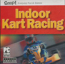 INDOOR KART RACING Go Cart Rotax PC Game NEW VISTA OK! - E for Everyone