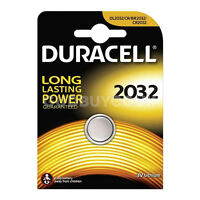 10 x DURACELL NEW LASTING CR2032 3V LITHIUM COIN CELL BATTERIES DL2032 2032 BR