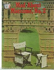 Mad About Macrame Vol. 2 Vintage Pattern Instruction Book NEW 1975