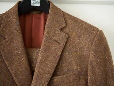 NWOT Phineas Cole 40L 40R Donegal Tweed Rust Sportcoat Blazer Jacket Paul Stuart