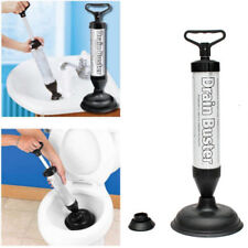 Hand Power Bath Toilet Plug Sink Pump Tool Drain Buster Plunger Cleaner Suction