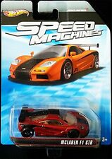 McLAREN F1 GTR Hot Wheels Speed Machines Series Dark Red & Black Mclaren ...