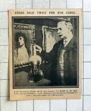 1915 Lord Newlands Stradivarius Sold Twice For The Red Cross