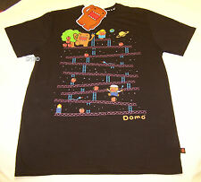 Domo Snakes & Ladders Mens Black T Shirt Size M New