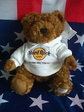 HRC Hard Rock Cafe Uyeno Eki Sweater Hoodie Bear 2010 LE Made by Herrington NWT