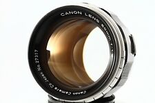 """Exc"" Canon 50mm F/1.2 Leica Screw Mount LTM 39 Lens. w/Filter, From Japan#2731"