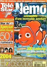 TELE STAR 2003: HELENE SEGARA_GAROU_VICTORIA BECKHAM_DICK RIVERS_MC SOLAAR