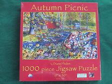 AUTUMN PICNIC by Diane Phalen - 1000 piece SunsOut Puzzle QUILT - NEW