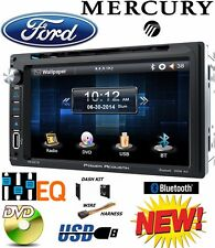 FORD MERCURY TOUCHSCREEN Bluetooth CD DVD USB Radio Stereo Double Din Dash Kit
