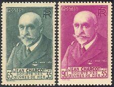 Francia 1938 Jean Charcot/explorador antártico/náufragos los Marineros 2v Set (n43377)