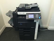 Konica Minolta Bizhub 222 Copier Printer Scanner Network & Staple Finisher