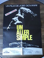 AFFICHE CINEMA (60x80) UN ALLER SIMPLE Jose Giovanni (G16)