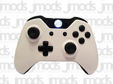 NEW Xbox One 1 Custom Wireless Controller (Gloss White) Led Mod