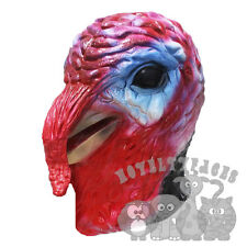 Latex Animal Overhead Turkey Bird Thanksgiving Christmas Fancy Props Party Mask