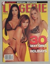 Playboy Special Edition Magazine: Lingerie January February 2004