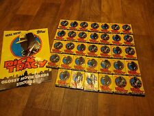 LOT OF 34 PACKS OF TOPPS--DICK TRACY TRADING CARDS (NEW)
