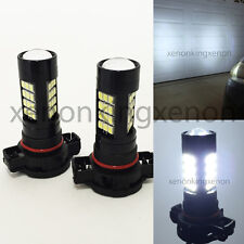 H16 12086 9009 PS24W 2504 Samsung LED 42 Smd White Bulb #c1 DRL FOG Driving Lamp