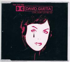 DAVID GUETTA LOVE, DON'T LET ME GO MAX CD SINGOLO SINGLE cds 5 TRACKS