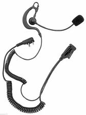MIDLAND TH1 Tactical headset Action adjustable Boom Mic with PTT Grade cord NEW