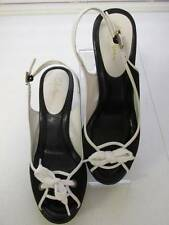Cole Haan Air Ricki Black White Sandals Shoes 6 B