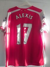 Alexis Sanchez 17 2014-2015 Arsenal Home Football Shirt Extra Large /40948