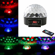 DMX512 Crystal Ball LED Stage Light DJ Disco Party Show Lighting + Controller