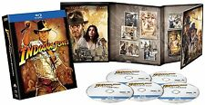 Indiana Jones Complete All Films Region Free [4 Blu Ray] BoxSet Movie Collection