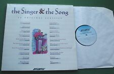 The Singer & The Song Tom Paxton Joni Mitchell Gerry Rafferty + SMR 975 LP