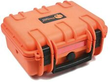 Elephant E150 Orange Waterproof Hard Case For Gopro Camera or Video Equipment +