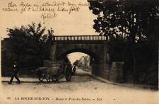 LA ROCHE SUR YON - Route et Pont des Sables (attelage)