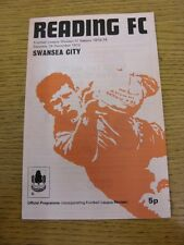 26/12/1973 Reading v Swansea City  . Thanks for taking the time to view our item