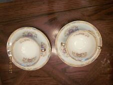 Noritake Cream Soup Bowls With Saucers 2 Multi color more available