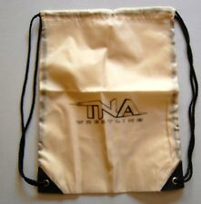 TNA Pro Wrestling Backpack NEW Wrestlers wwe raw brown bag Angle Jarrett