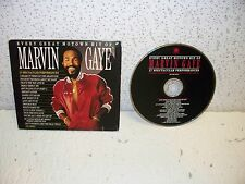 Every Great Motown Hit of Marvin Gaye CD Compact Disc Out of Print