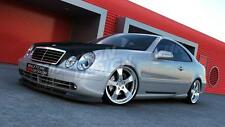 FRONT  SPLITTER (TEXTURED) FOR MERCEDES CLK W208 AMG (1997-2003)