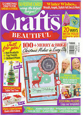 CRAFTS BEAUTIFUL,  NOVEMBER, 2015  ISSUE, 286 ( 12 CHRISTMAS CRAFTS FOR UNDER A