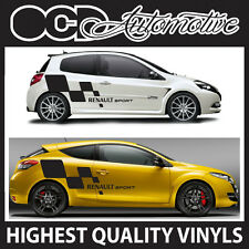 RENAULT SPORT CLIO MEGANE GRAPHICS DECALS STICKER KIT FITS ALL TURBO 16V