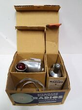 NIB LIGHT SET RADIOS N°18 FRONT LAMP & REAR LAMP & DYNAMO TYPE M MADE IN FRANCE