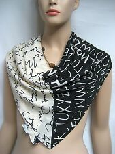 ITALY Moschino Cheap Chic Larioseta Silk 86x86 Women Scarf Wrap Shawl Gift NEW