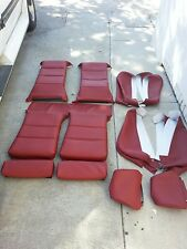 BMW E30 325i 318i 325is 318is 325e SPORT SEATS CARDINAL RED UPHOLSTERY KITS  NEW
