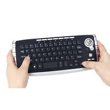 2.4GHz Wireless Office Gaming Mouse Keyboard with Trackball for Computer Tablet